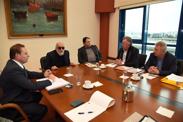 Σύσκεψη στο Υπουργείο για τη χερσαία ζώνη του Λιμένα Ηγουμενίτσας