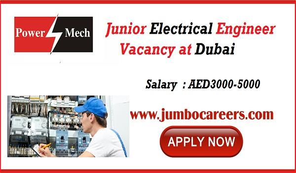 Electrical jobs in Dubai, Urgent jobs in gulf countries, Male jobs in Dubai,