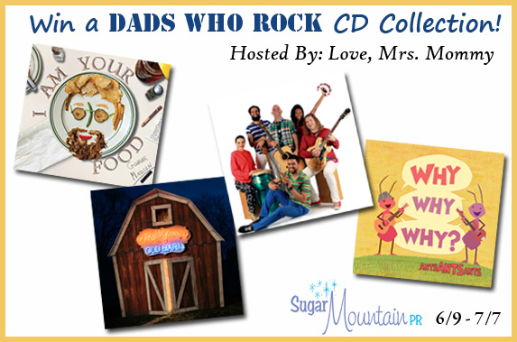 Dads Who Rock CD Collection Giveaway