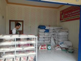 Bantu Warga, Toko Tani Jual Beras Rp 8.000/kg