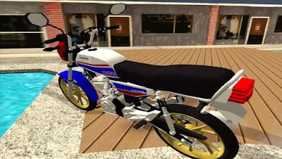 Mod, moto , HONDA ML HRC PC FRACO para GTA San Andreas, GTA SA