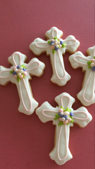 Sweet Jenny Belle - Communion Cookie Tutorial
