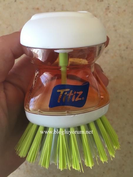 titiz deterjan bulaşık fırçası