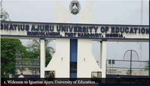 Ignatius Ajuru University Programme Transfer Form (1yr Students)