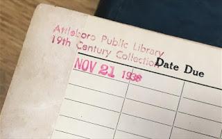 Βιβλίο επεστράφη σε βιβλιοθήκη με καθυστέρηση περίπου 80 ετών