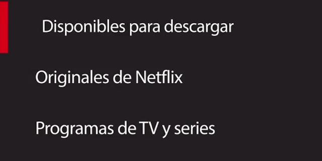 Netflix ya permite descargar contenido para verlo offline