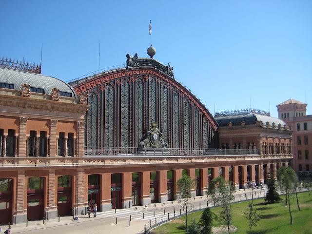 Estação Atocha em Madri