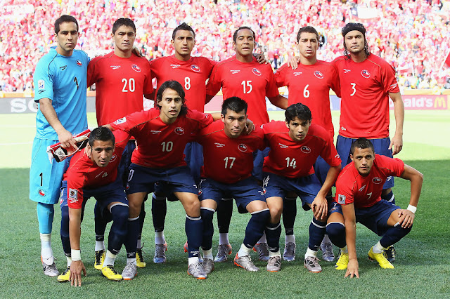 Formación de Chile ante Honduras, Copa del Mundo Sudáfrica 2010, 16 de junio
