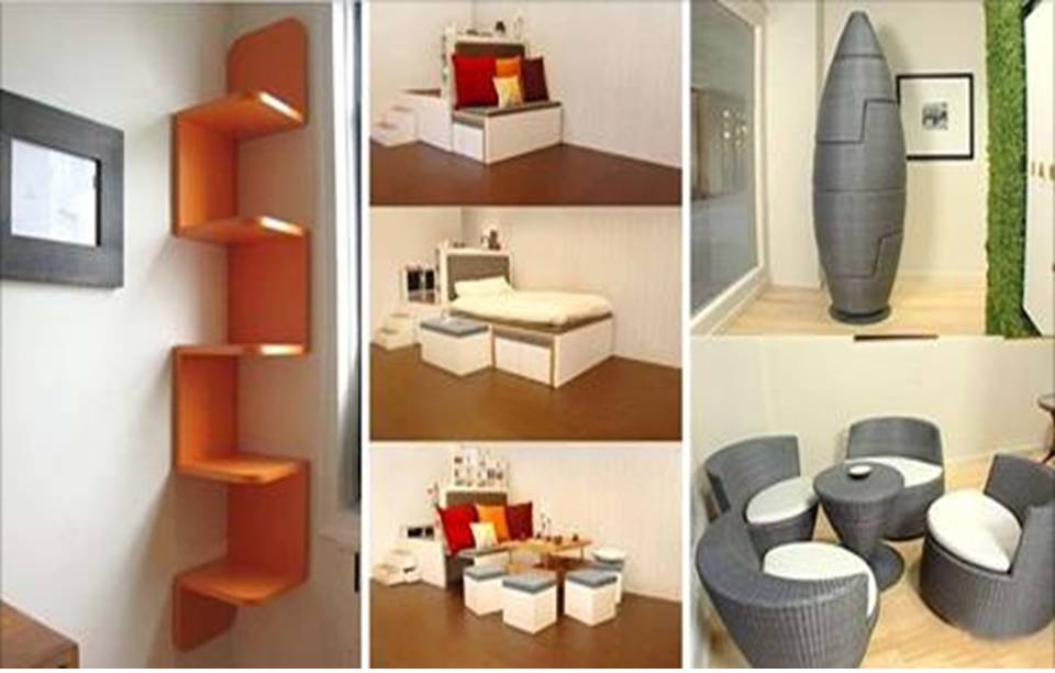 20 creative space saving ideas for home home interior for Space saving home designs