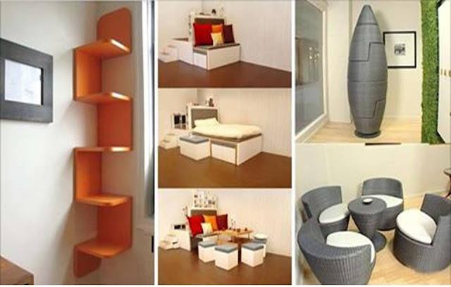 20 creative space saving ideas for home home interior for Space saver home designs