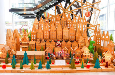 Source: Swire Hotels. The Christmas Village at East, Hong Kong.