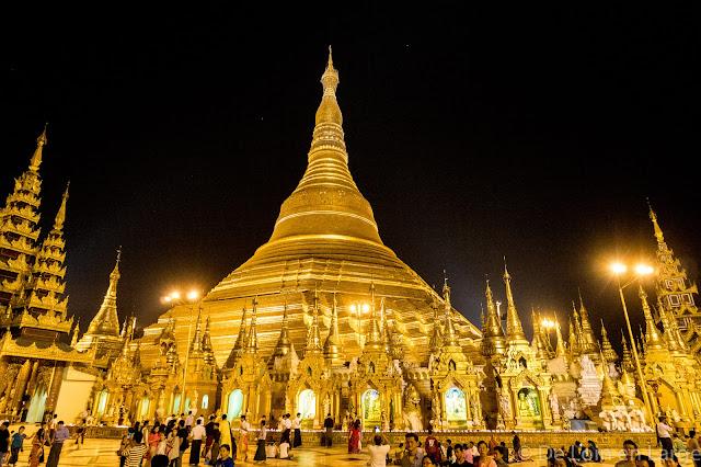 Pagode de Shwedagon-Yangon-Myanmar-Birmanie