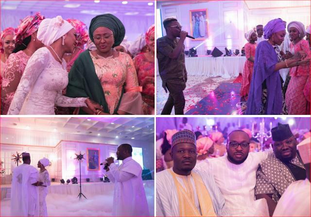 SEE Beautiful Faces at Zahra Buhari's Wedding, Olamide Baddo
