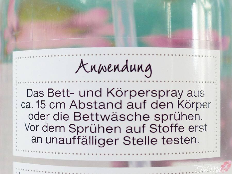 Review Wellness Beauty Bett Und Korperspray Mandel Bambus Tiamel