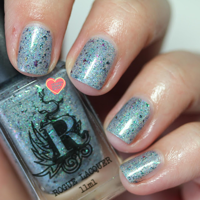 Rogue Lacquer Puns of Steel swatch by Streets Ahead Style
