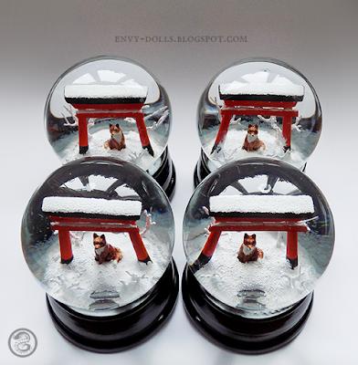 torii snowglobe