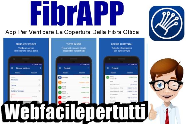 FibrApp | Applicazione Per Verificare La Copertura Della Fibra Ottica