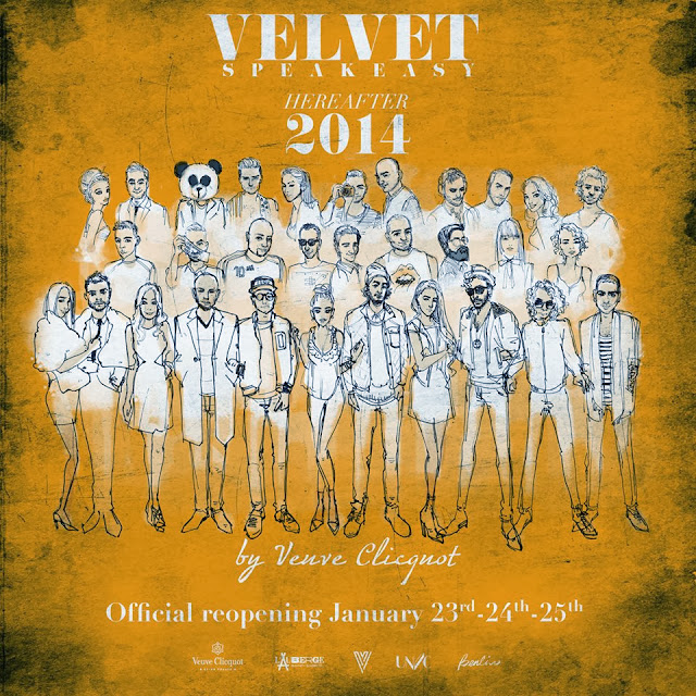 fashion illustration, Veuve Clicquot, DJ custom portrait, poster, group portrait, Benda panda, Montreal artist