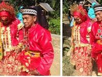 Ini Alasan Gadis 28 Tahun Rela di Nikahi Kakek 70 Tahun