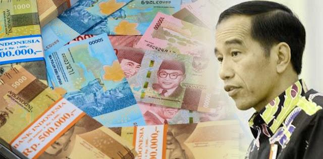 Rupiah Rontok Jokowi Cemas?