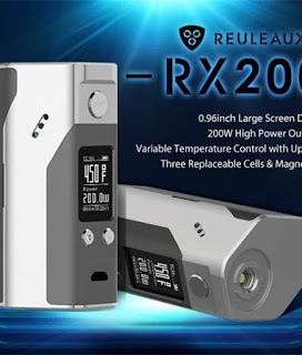 Single and classic colored Wismec Reuleaux RX200S!