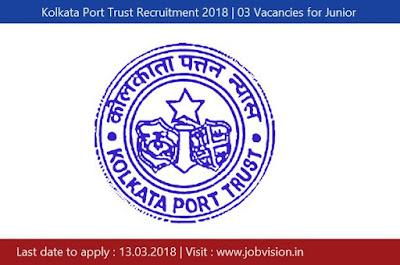 Kolkata Port Trust Recruitment