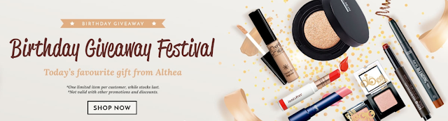 Althea Birthday Giveaway Festival Woman In Digital