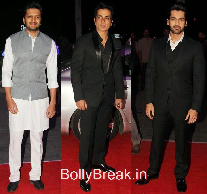 Riteish Deshmukh, Sonu Sood, Arjan Bajwa