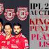 Kings Xl Punjab Team Squads Images   KXlP Team Squads   Kings Xl Punjab Logo and Jearsy