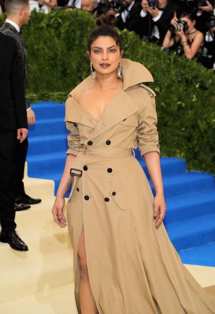 Priyanka Chopra at Met Gala 2017 Red Carpet Stills