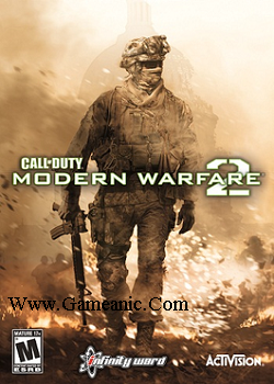 Call Of Duty Modern Warfare 2 Game Cover