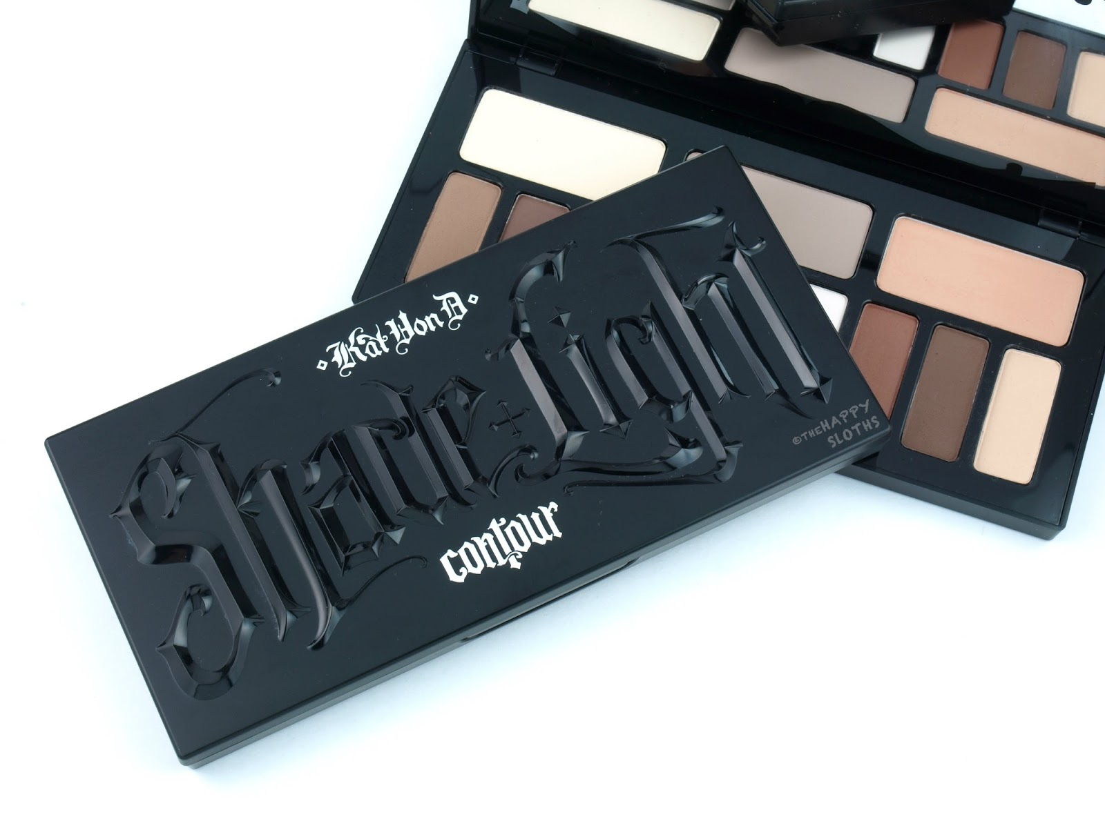Kat Von D Shade + Light Eye Contour Palette & Face Contour Refillable Palette: Review and Swatches