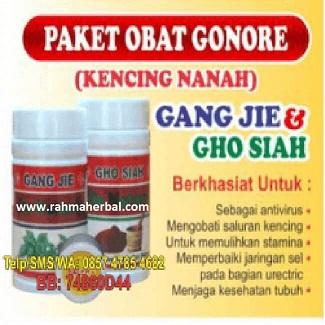 Paket obat Gonore Kencing nanah