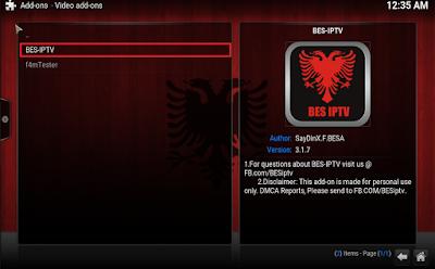 How To Install BES IPTV Addon On Kodi