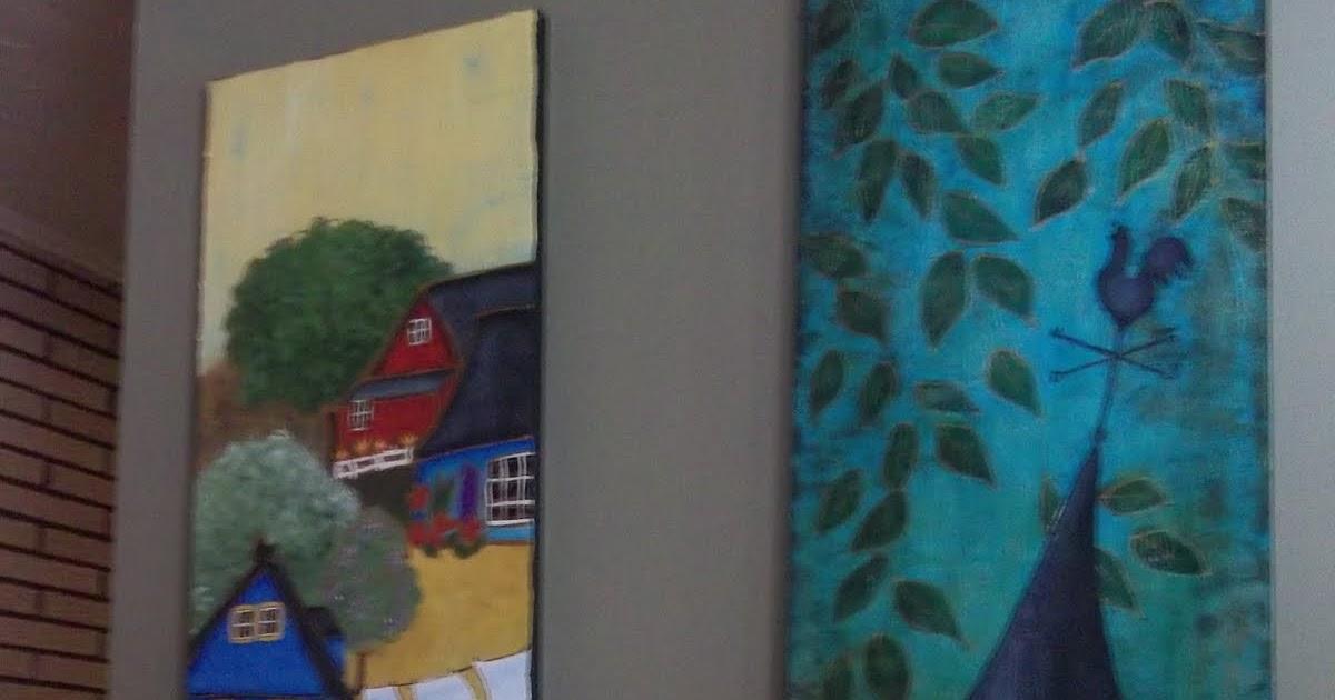 l 39 atelier de gabrielle mes 4 saisons peinture sur bois. Black Bedroom Furniture Sets. Home Design Ideas