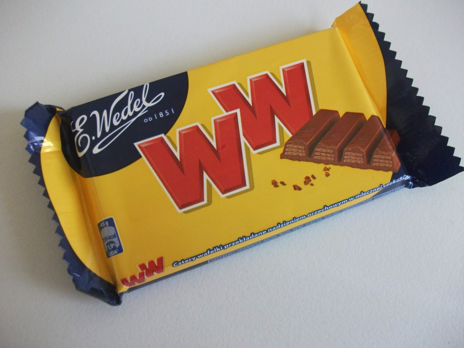 wedel ww wafer bar