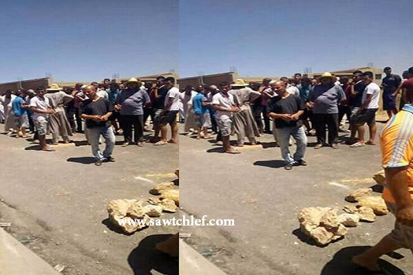 حافلة تدهس طفلا والسكان يحتجون بقرية عين الناس بعين مران