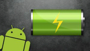 Android smartphone battery