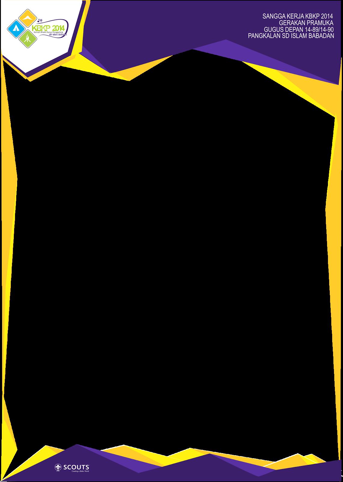 Desain Proposal Kegiatan Pramuka 5