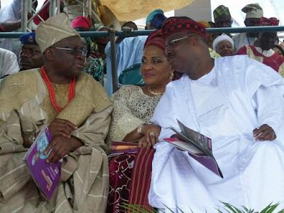 coronation ceremony Oba Saliu Akanmu Adetunji olubadan of ibadan