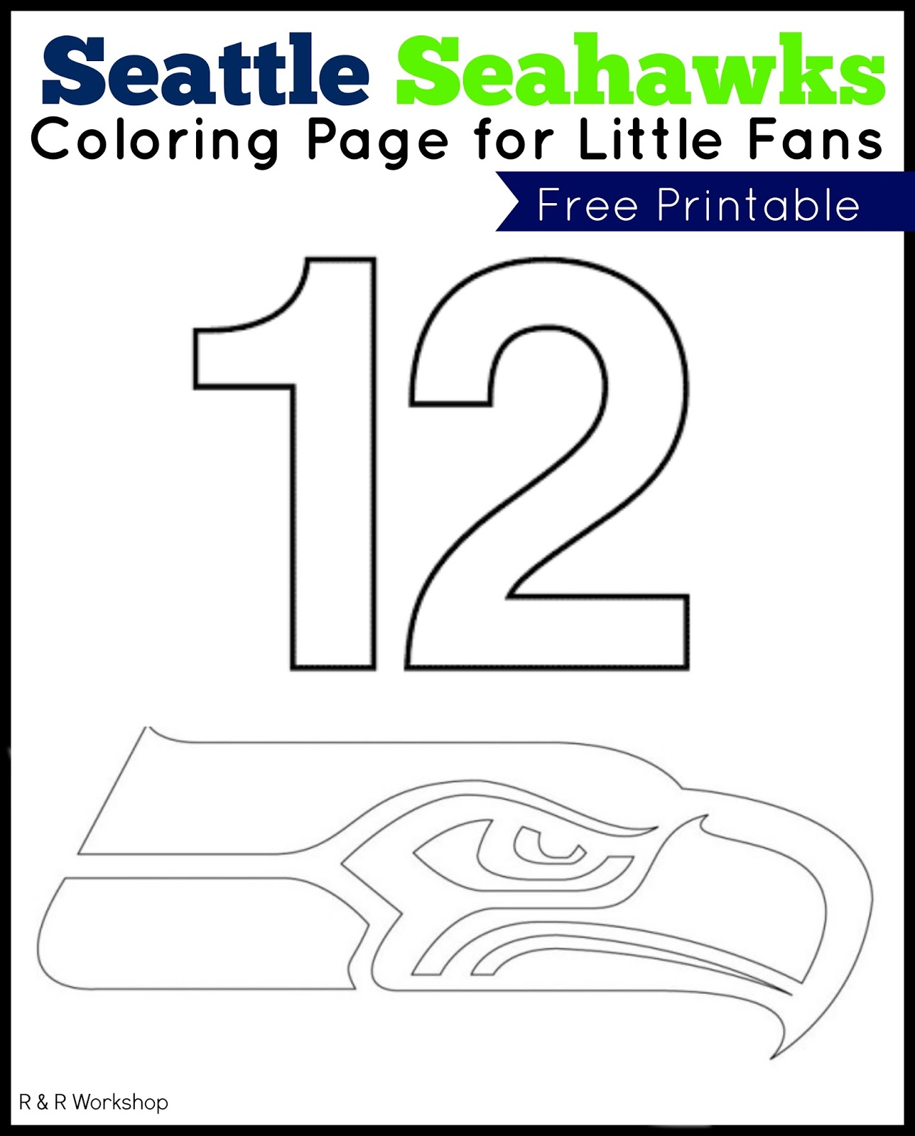 r amp r workshop seattle seahawks don 39 t eat pete game printable