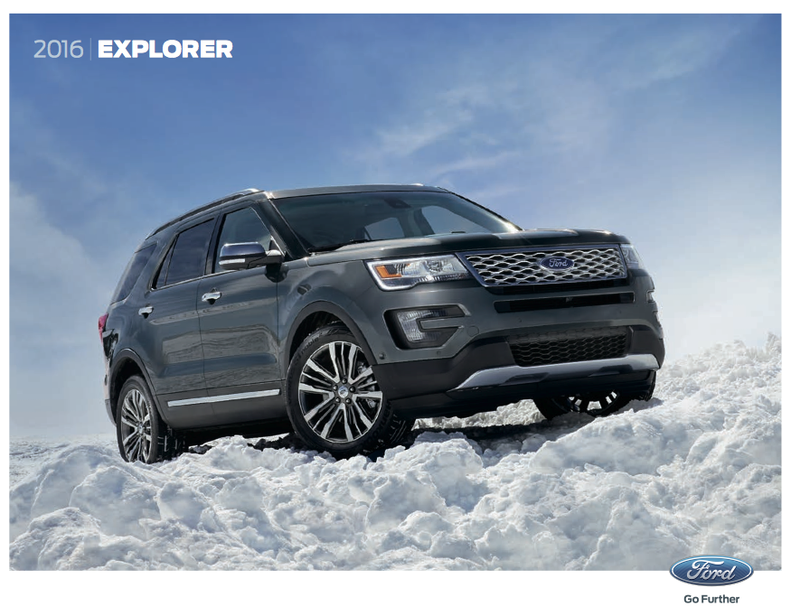 Velde Ford Pekin >> the Velde Voice: Downloadable 2016 Ford Explorer Brochure