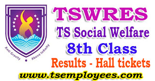 Tswreis 8th Class Entrance Test Results 2017 Hall tickets Social Welfare Residential Schools Common Entrance Test 2017