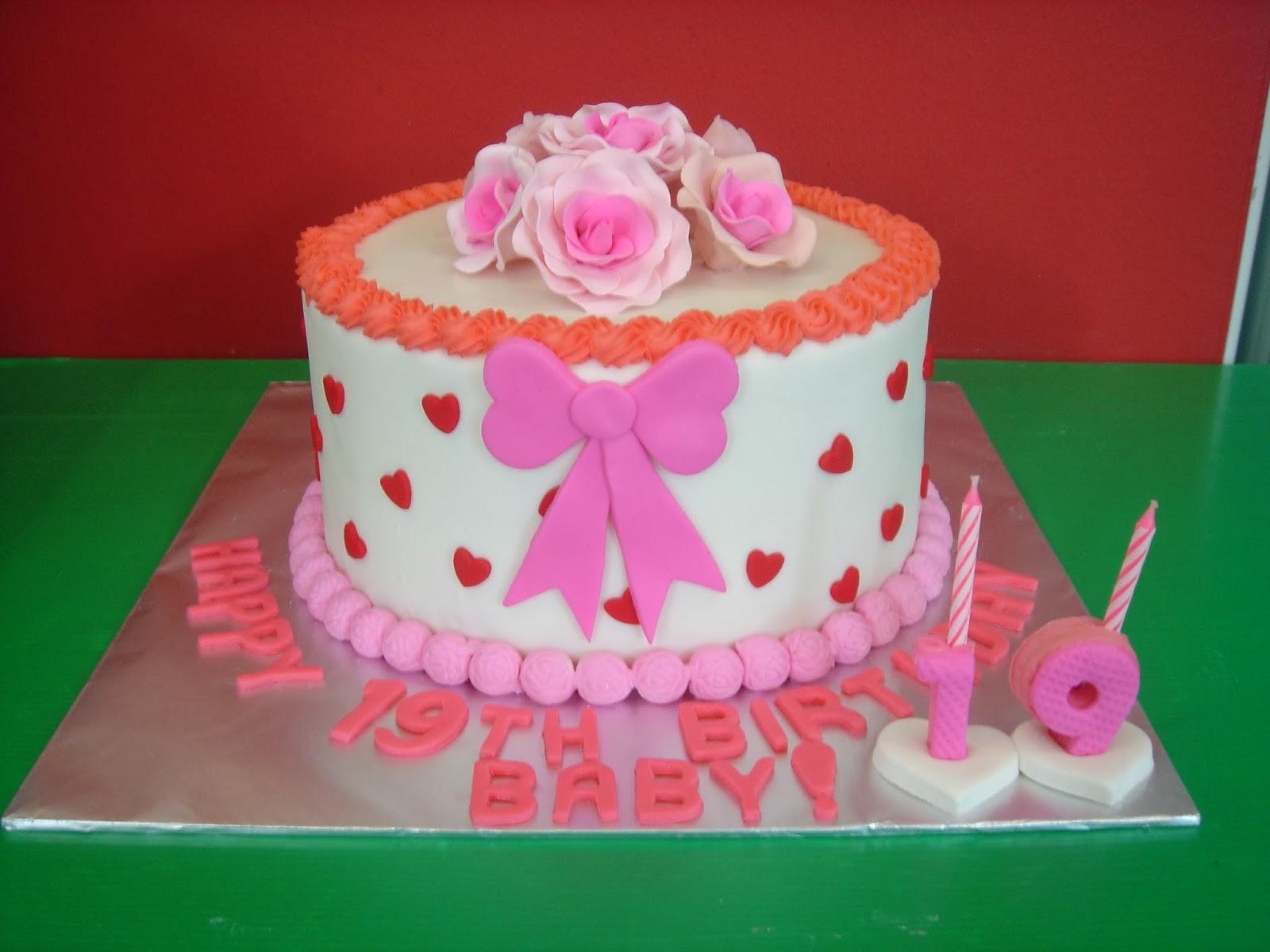 Yochanas Cake Delight Happy 19th Birthday Baby