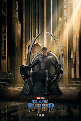 Marvel's Black Panther Teaser Theatrical One Sheet Movie Poster