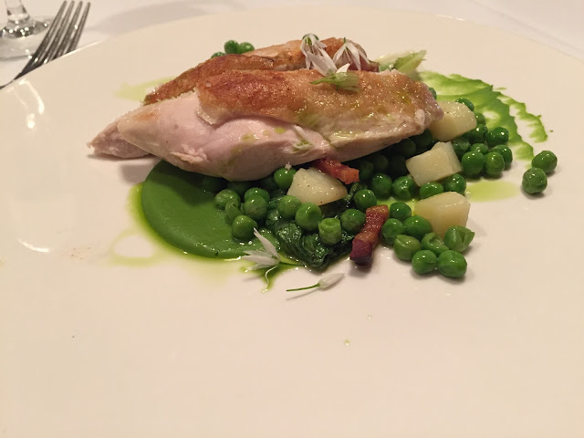 Chicken Main Meal At Jesmond Dene House Early Evening Menu