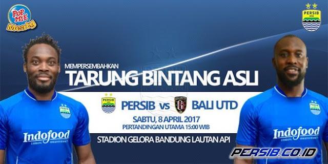 Persib vs Bali United: Essien dan Cole Dipastikan Main