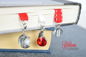 How to Make Ribbon Bookmarks