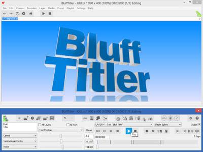 برنامج تصميم النصوص المتحركة  BluffTitler Ultimate 13.4.0.0