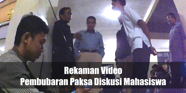 Tak Punya Adab: Dosen Ushuluddin UIN Syarif Hidayatullah Bubarkan Paksa Forum Diskusi Mahasiswa !